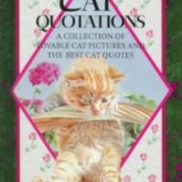 Cat Quotations [동물도서]