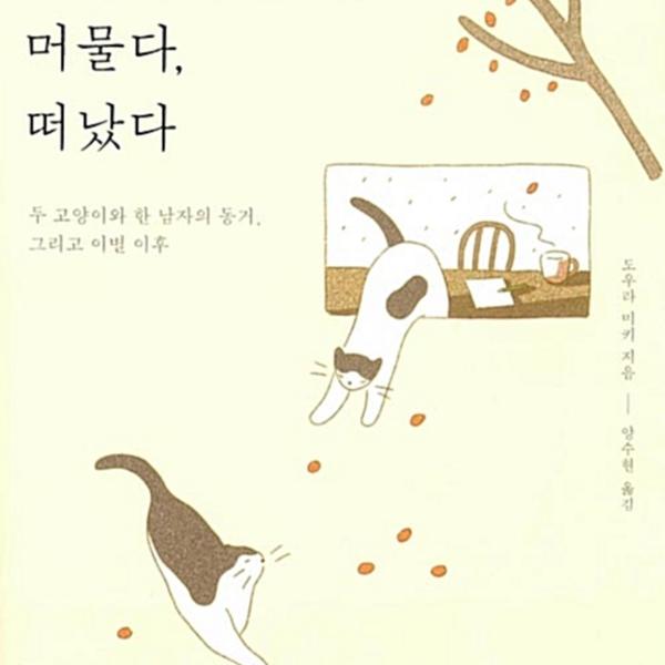 고양이가 왔다, 머물다, 떠났다 : 두 고양이와 한 남자의 동거, 그리고 이별 이후 [동물도서]