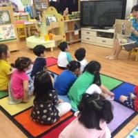 유아 동물보호교육프로그램 개발 사업 시범교육 사진 : 합일초등학교병설유치원 [사진그림류]