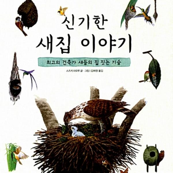 신기한 새집 이야기 : 최고의 건축가 새들의 집 짓는 기술 [동물도서]