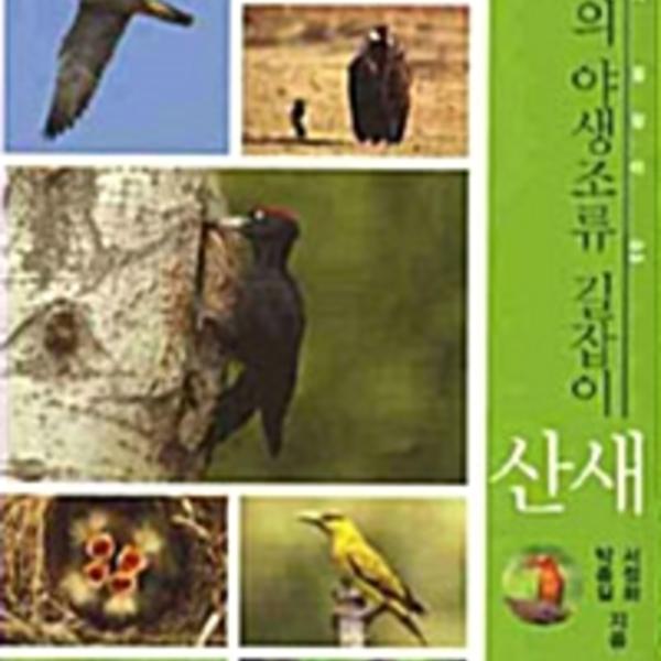 산새 : 한국의 야생조류 길잡이 [동물도서]
