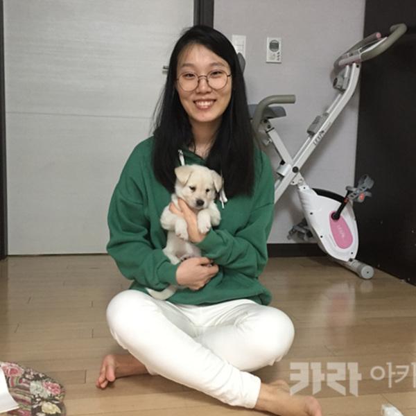 (입양후기-개) 박성경씨믹스애기 [사진그림류]