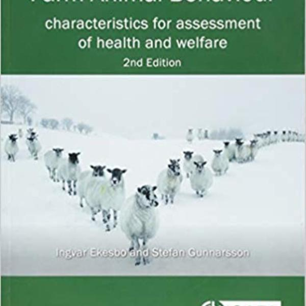 Farm Animal Behaviour : Characteristics for Assessment of Health and Welfare [동물도서]
