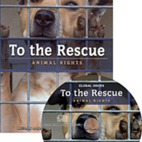 To the Rescue : Animal Rights (Paperback + CD) [동물도서]