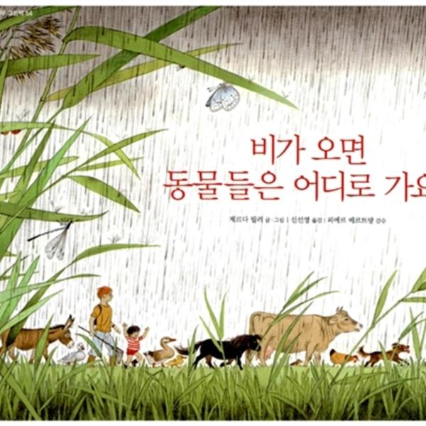 비가 오면 동물들은 어디로 가요? [동물도서]
