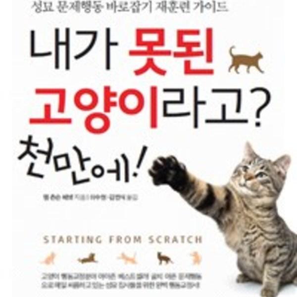 내가 못된 고양이라고? 천만에! : 성묘 문제행동 바로잡기 재훈련 가이드 [동물도서]