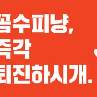 광화문 촛불집회 카라 피켓 이미지 : 꼼수피냥, 즉각 퇴진하시개 [사진그림류]