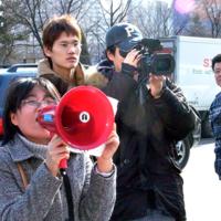 KBS 환경스페셜 '애완동물의 대반격' 오보에 대한 항의집회 현장  [사진그림류]