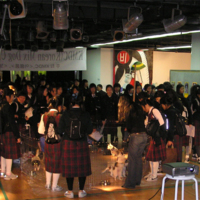 광주 비엔날레 'KOREA MIX DOG CONTEST' 캠페인 현장 [사진그림류]