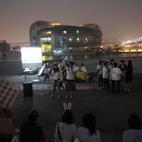 펜디 모피쇼 반대시위 현상 [사진그림류]