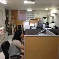 카라 약수역 사무실 모습 [사진그림류]