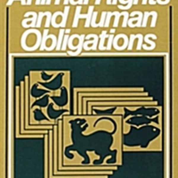 Animal Rights and Human Obligations [동물도서]