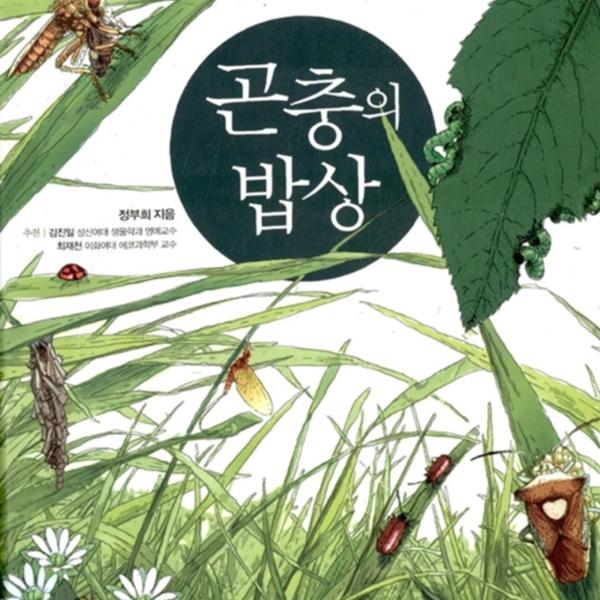 곤충의 밥상 : 숲 속은 먹이 정글, 밥상을 둘러싼 곤충들의 열정 소나타 [동물도서]