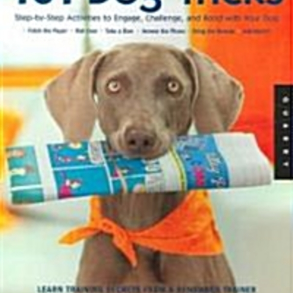 101 Dog Tricks : Step by Step Activities to Engage, Challenge, and Bond with Your Dog [동물도서]