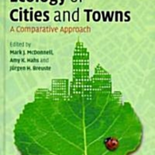 Ecology of Cities and Towns : A Comparative Approach [동물도서]