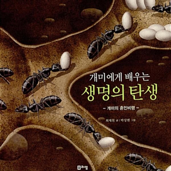 개미에게 배우는 생명의 탄생 : 개미의 혼인비행 [동물도서]