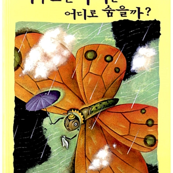 비가 오면 나비는 어디로 숨을까? [동물도서]