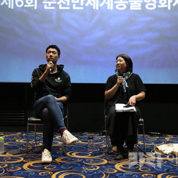 제1회 카라 동물영화제 GV(블루) [사진그림류]