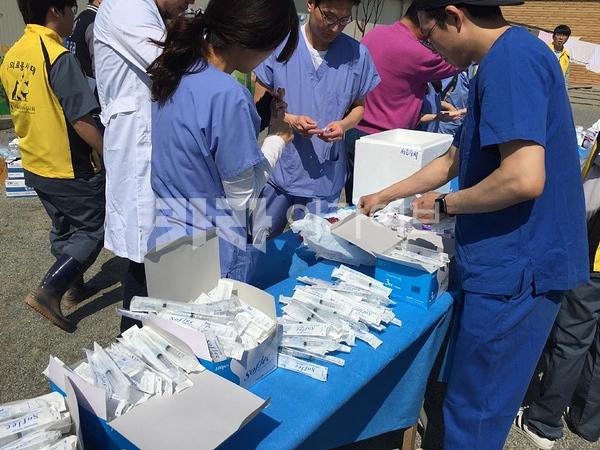 의료봉사대 행강집 [사진그림류]